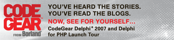Delphi 2007 Launch Tour